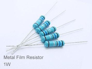 (20pcs) DIP Metal Film Resistor 1% 1W 6.2K