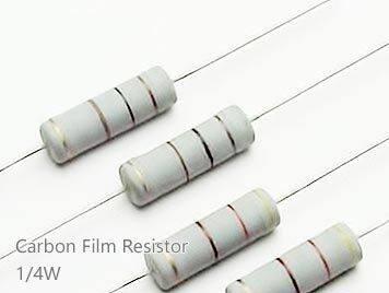 (20pcs) DIP Carbon Film Resistor 5% 1/4W 20K