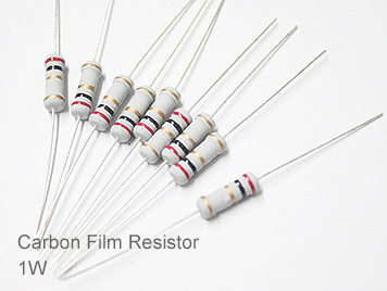 1W Carbon Film Resistor Pack,23 Kinds,33K-2.2M,Each 10pcs,Total 230pcs,Sample Book.