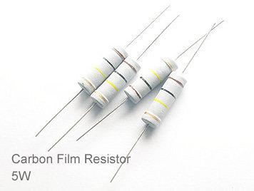 (20pcs) DIP Carbon Film Resistor 5% 5W 16Ω(16R)