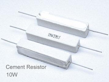 (5pcs) DIP Ceramic Resistor 5% 10W 30Ω(30R)