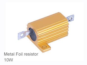 (1pcs) DIP Aluminium Clad Power Resistor 5% 10W 680Ω(680R)