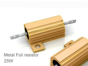 (1pcs) DIP Aluminium Clad Power Resistor 5% 25W 68Ω(68R)