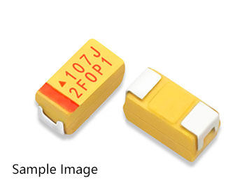 Plug-in tantalum capacitor  1UF  25V Size: 4 * 5.5 mm  Packaging: P = 2.54 mm