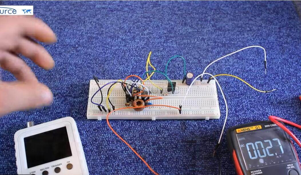 Mini oscilloscope from utsource