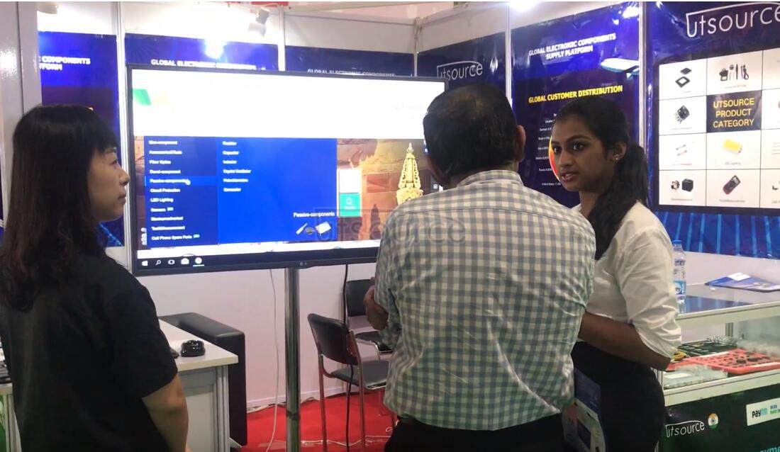 Exhibition overview of International Trade Fair for Electronic Components in Bangalore-Utsource