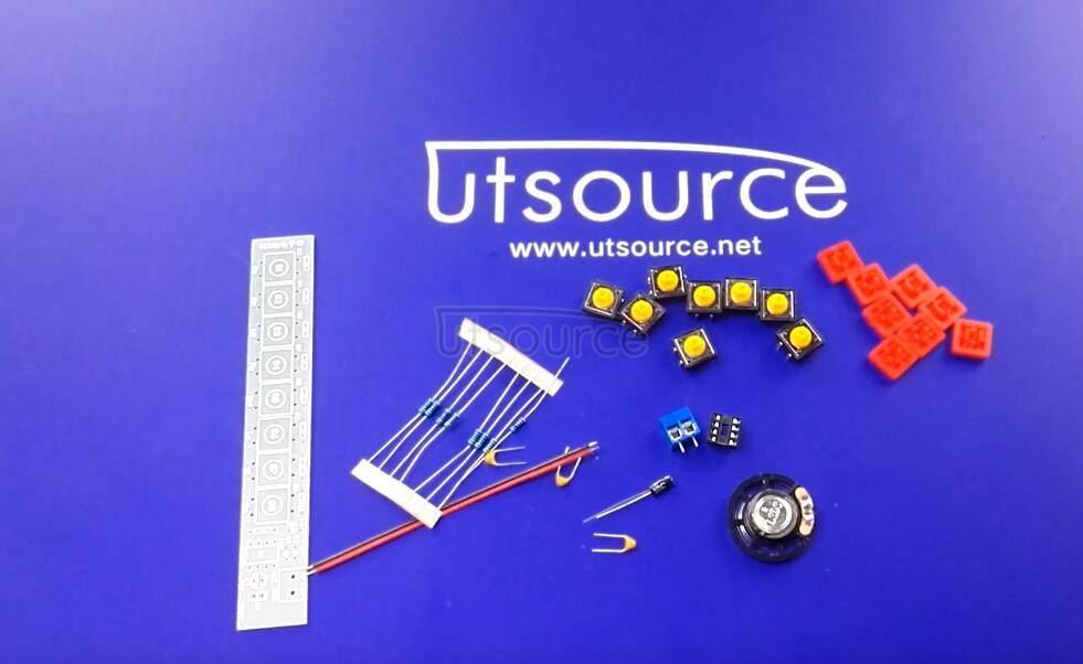 DIY NE555 Electronic Organ/NE555 timer diagram module