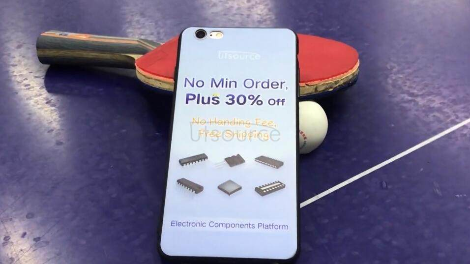 Play Ping Pong with a Utsource custom iphone phone case