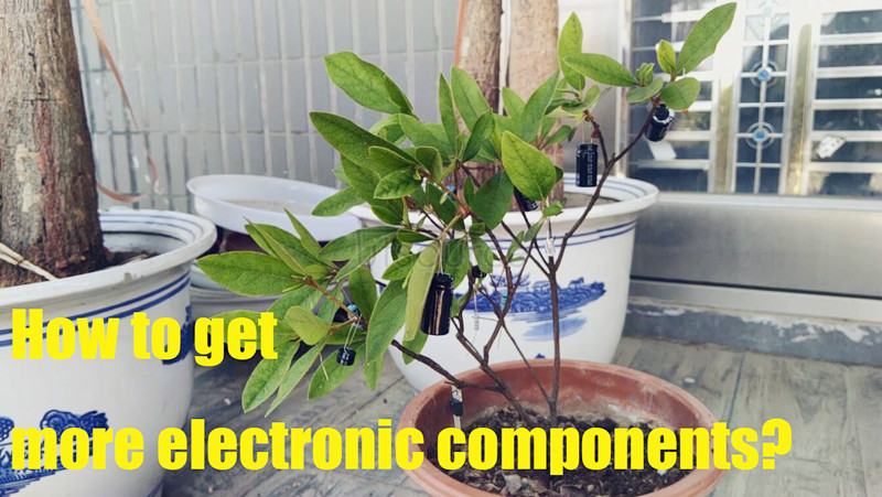 Components Tree. How to get more electronic components, utsource