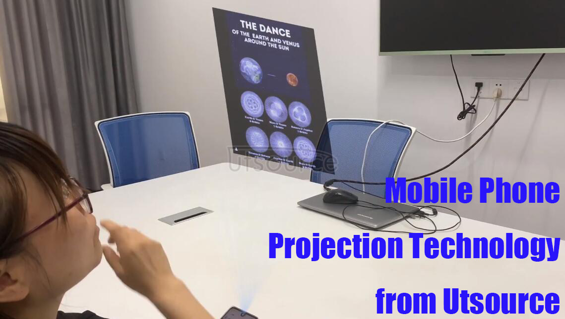 New technology, mobile phone projection from Utsource
