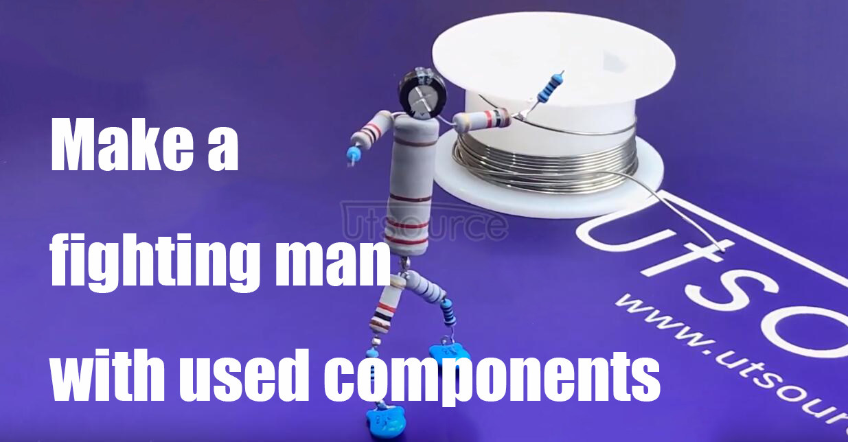 Make a fighting man with used components, Utsource