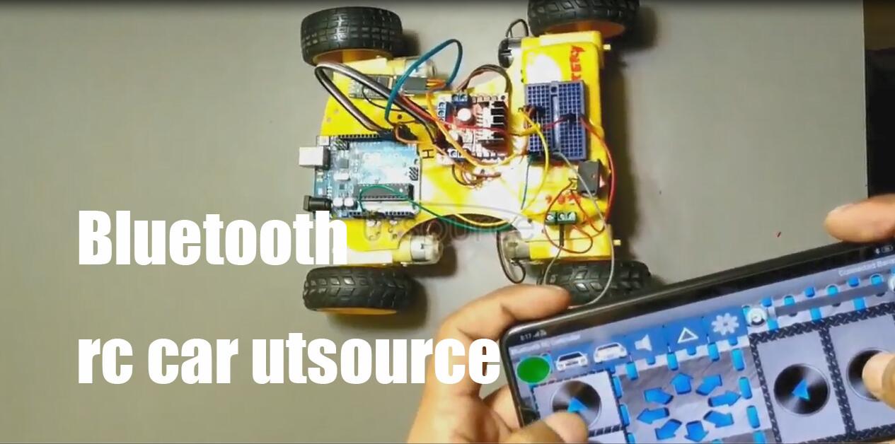 Bluetooth rc car utsource.