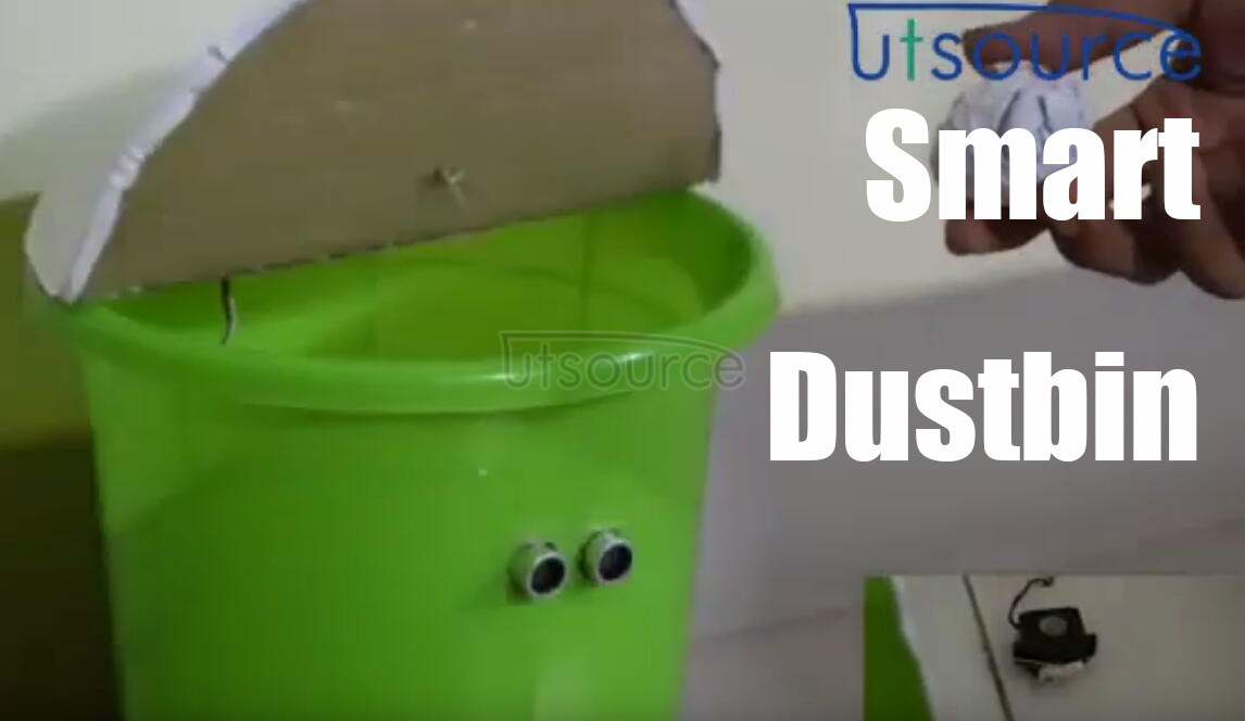 How to make a smart dustbin?