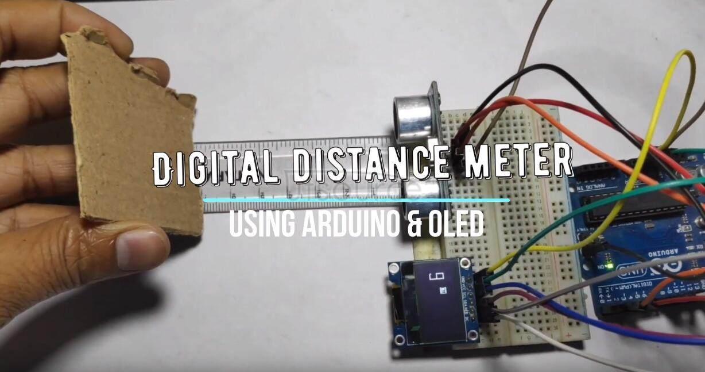 Digital distance meter