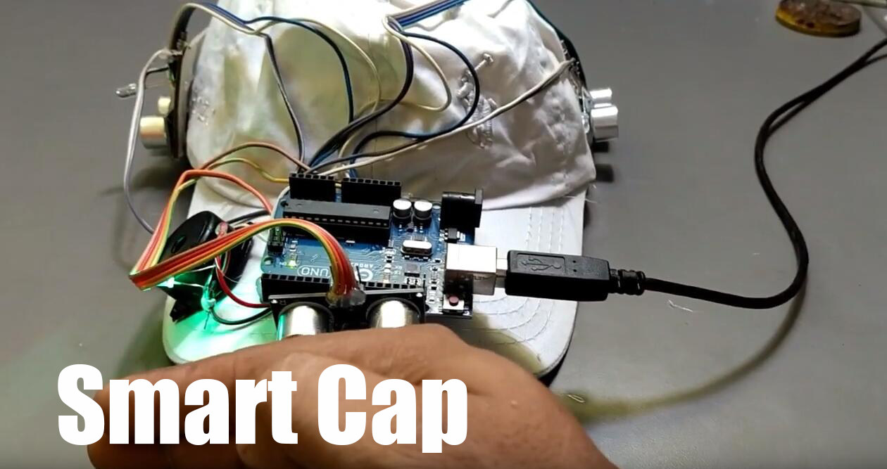 Smart Cap for visually impaired people
