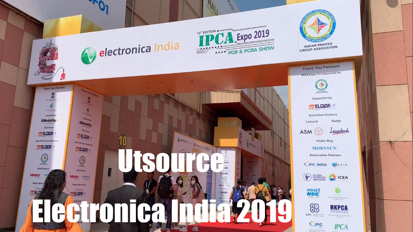 Utsource in Electronica India 2019
