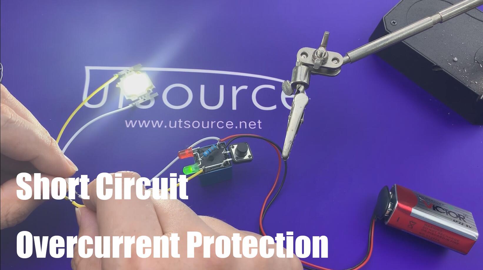 DIY Short Circuit Overcurrent Protection / Utsource