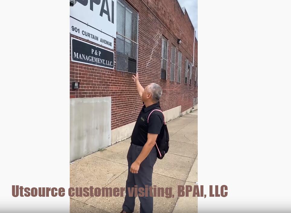 Utsource customer visiting, BPAI, LLC