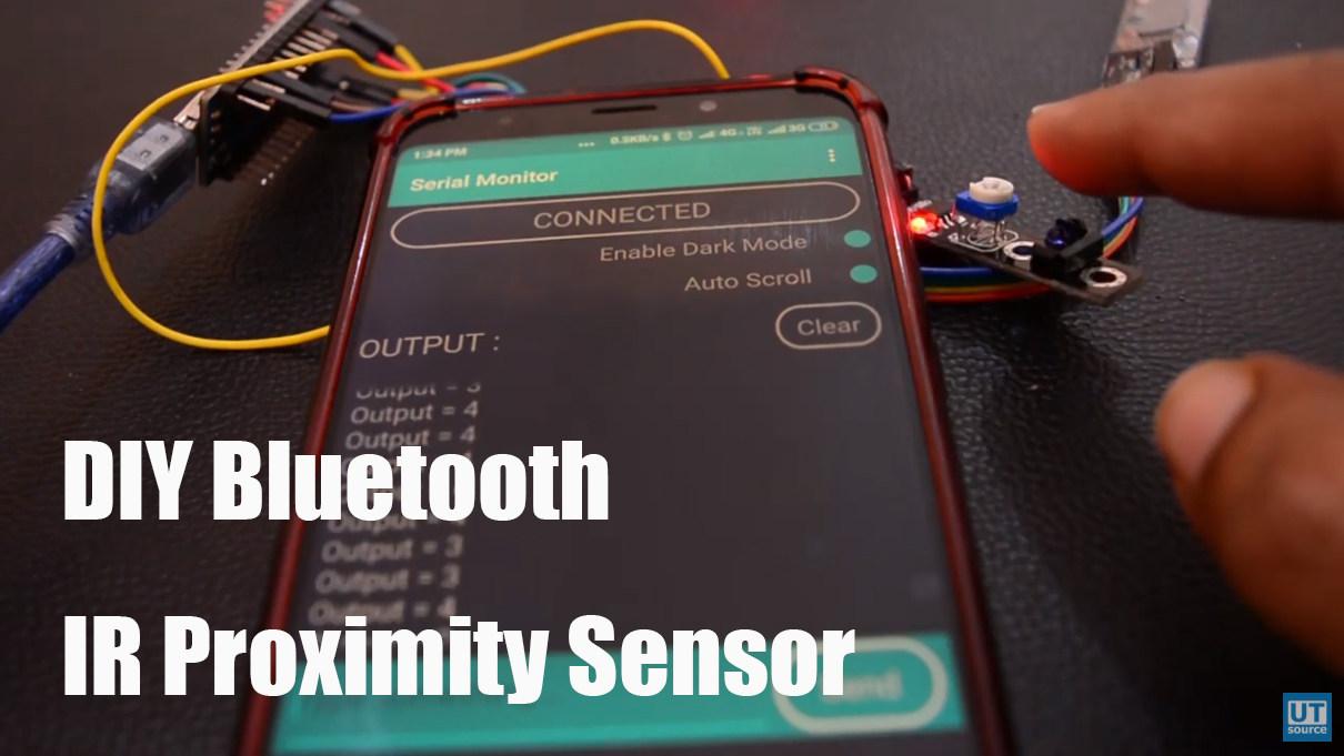 DIY Bluetooth IR Proximity Sensor