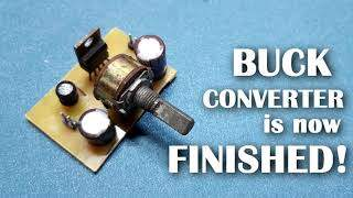 DIY Buck Converter with LM2576T