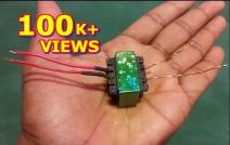 High voltage transformer Home made