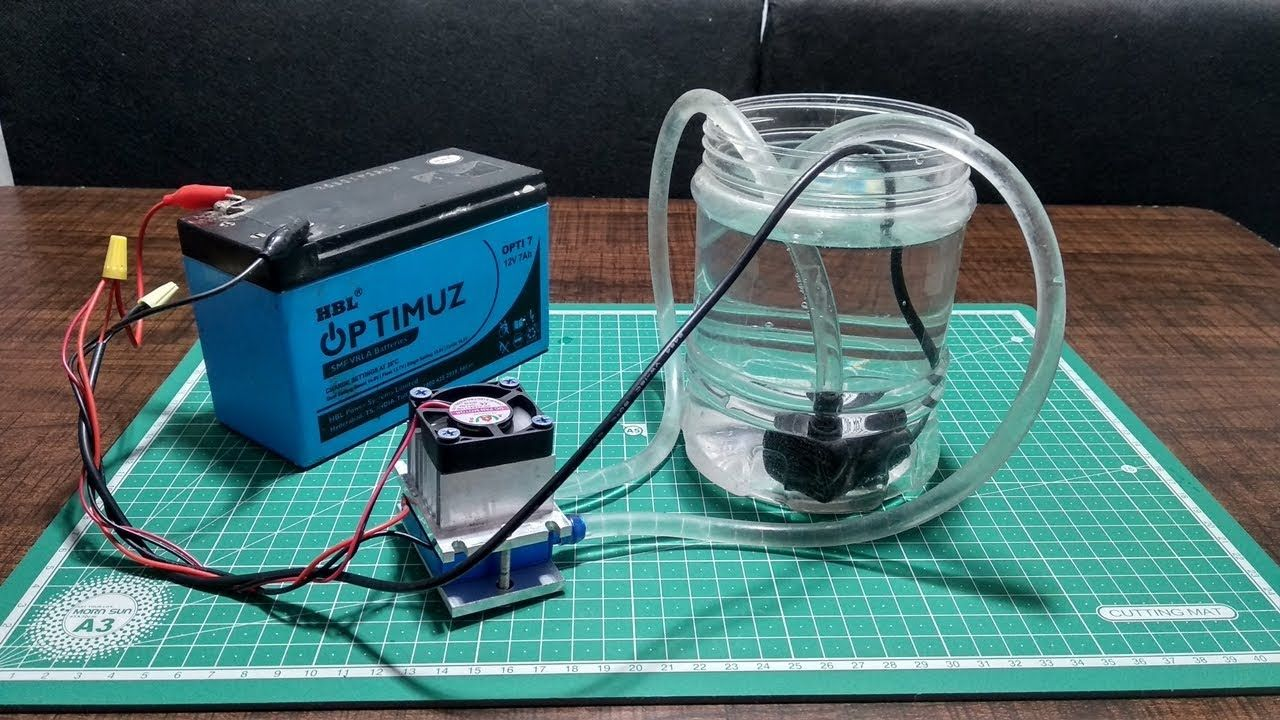 How to Make a Portable Water Cooler at home