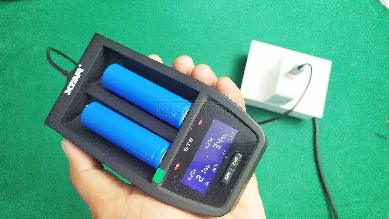 18650  Fast charger, xtar quick charger review