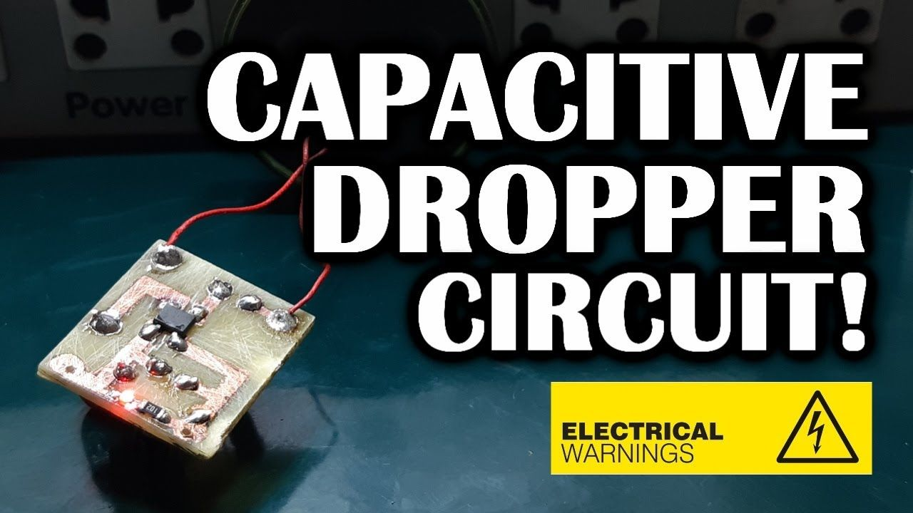 Capacitive Dropper Circuit With MB10F