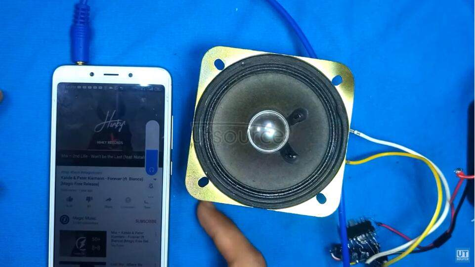 TA8227 Audio Amplifier
