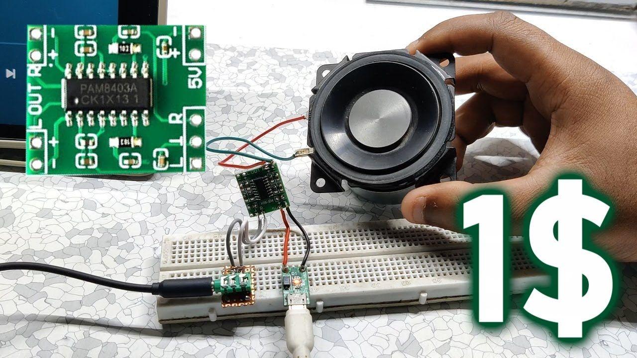 PAM8403 Speaker Setup