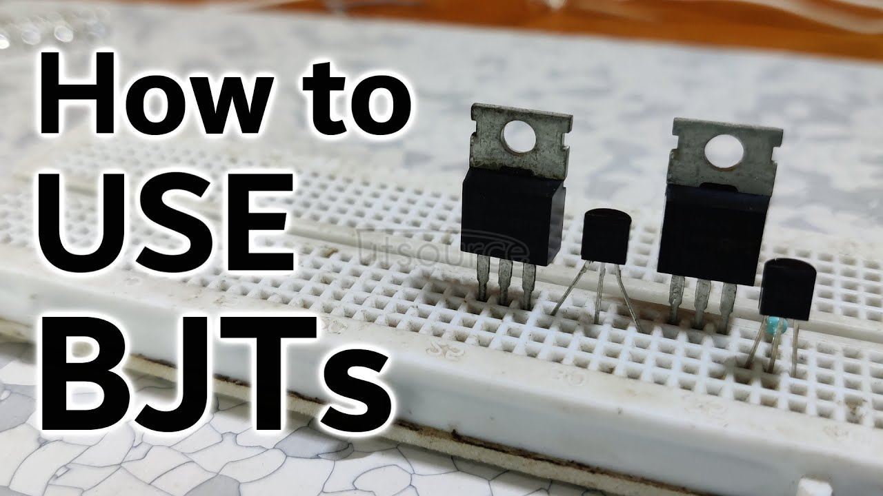 Transistors working explained
