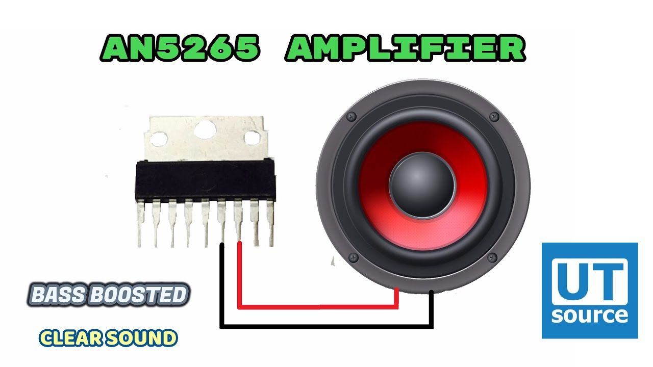 AN5265 AUDIO AMPLIFIER