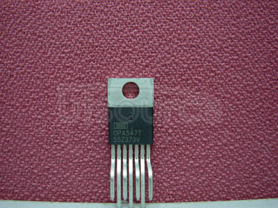 OPA547T High-Voltage, High-Current Op Amp, Excellent Output Swing 7-TO-220 -40 to 85