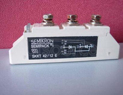 SKKT42/12E Thyristor / Diode Modules