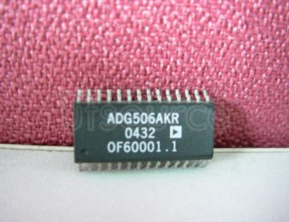 ADG506AKR CMOS 8-/16-Channel Analog Multiplexers
