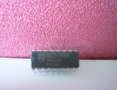 NE5209N Wideband variable gain amplifier