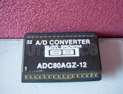 ADC80AGZ-12 GENERAL   PURPOSE   ANALOG-TO-DIGITAL   CONVERTER