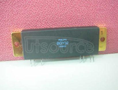 BGY32 VHF   power   amplifier   modules
