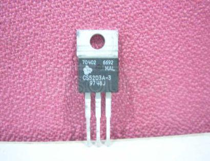 CS5203A-3 3.0 A Adjustable, and Fixed 1.5 V, 3.3 V and 5.0 V Linear Regulators