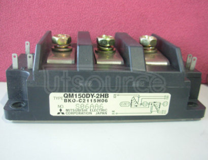 QM150DY-2HB HIGH POWER SWITCHING USE INSULATED TYPE