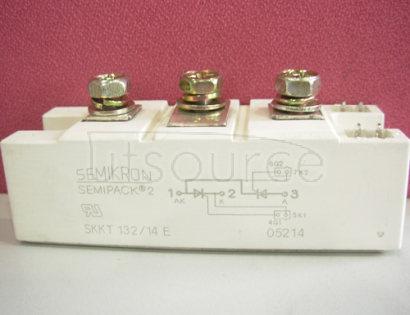 SKKT132/14E Thyristor / Diode Modules