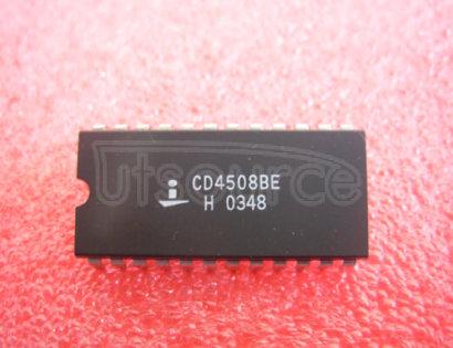 CD4508BE CMOS DUAL 4-BIT LATCH