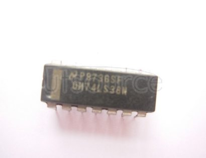 DM74LS38N Quad 2-Input NAND Buffer with Open-Collector Outputs