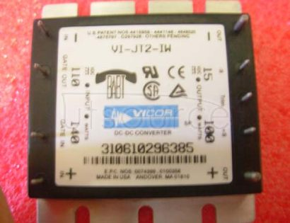 VI-JT2-IW DC-DC   Converters  25 to  100   Watts