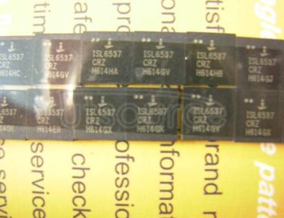 ISL6537CRZ 500-mA Peak Step-Up, Step-Down, Inverting Switching Voltage Regulator 14-SOIC 0 to 70