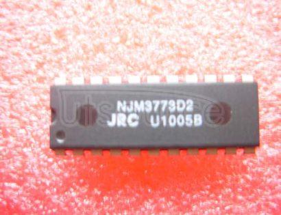 NJM3773D2 IC STEPPER MOTOR DVR DUAL 22-DIP