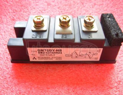 QM75DY-HB HIGH POWER SWITCHING USE INSULATED TYPE
