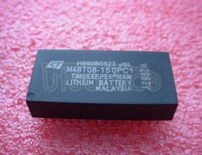 M48T08-150PC1 CMOS  8K x 8  TIMEKEEPER   SRAM