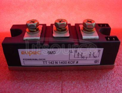 TT142N1400KOF SCR / Diode Modules up to 1800V SCR / SCR Phase Control
