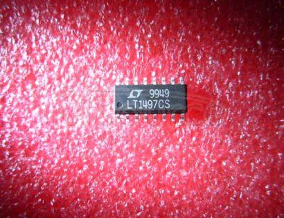 LT1497CS Dual 125mA, 50MHz Current Feedback Amplifier